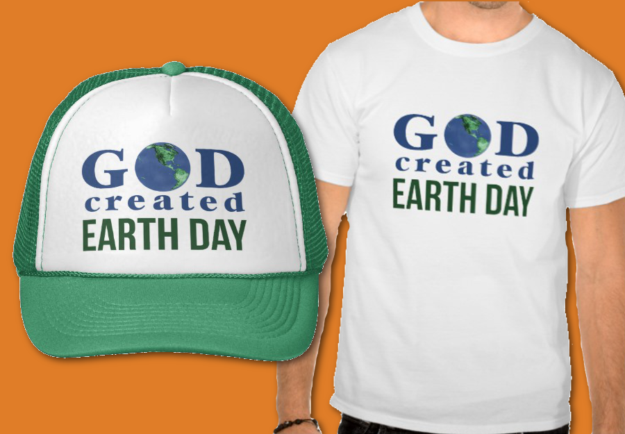 Earth Day T-shirt and Hat