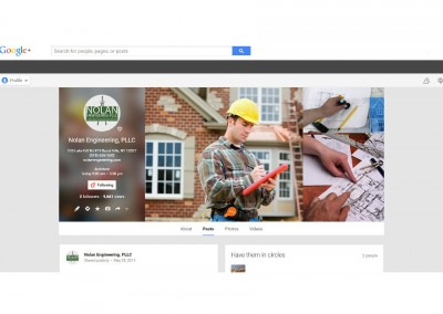 Engineering Firm Google+ Page