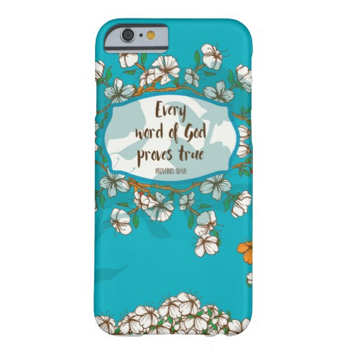 Proverbs 30:5a Phone Case