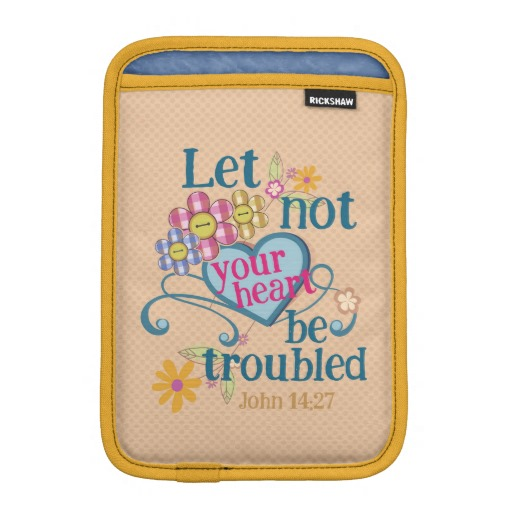 John 14:27 iPad Sleeve