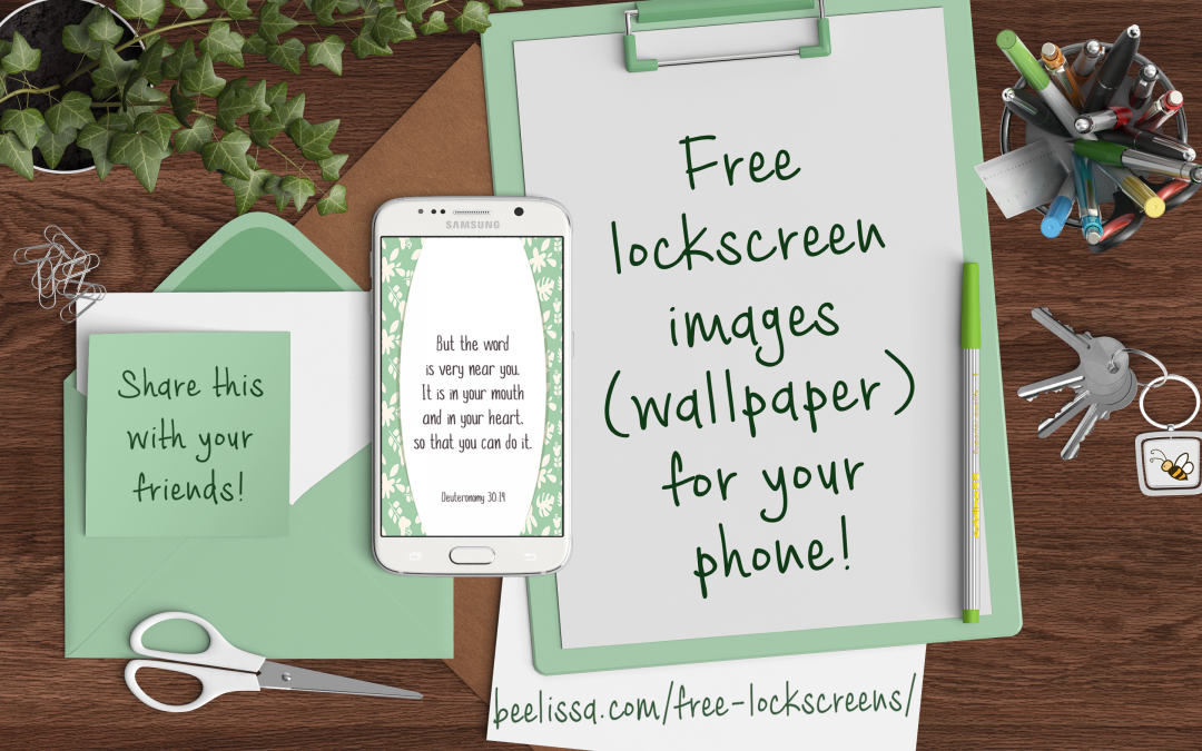 Free Lockscreens — Bible verse images for your phone lockscreen or wallpaper