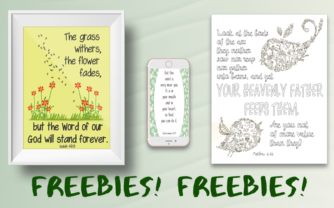 Freebies by Beelissa — for a limited time only!